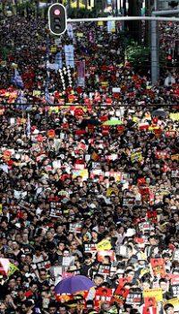 G20後、本番を迎えた香港