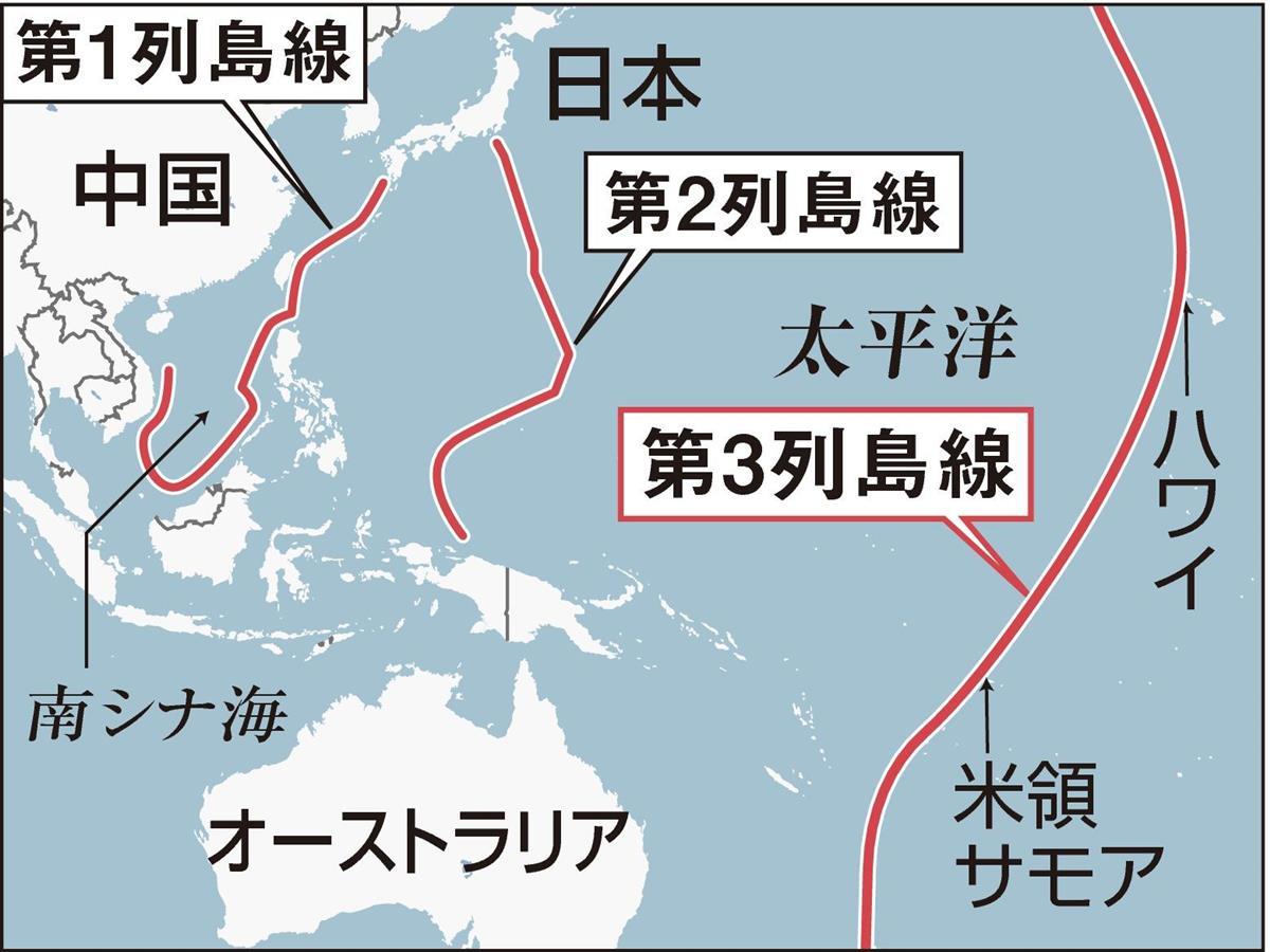 中国と海で接する国々の悩み