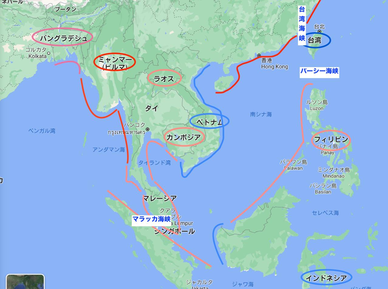 台湾有事とシーレーン